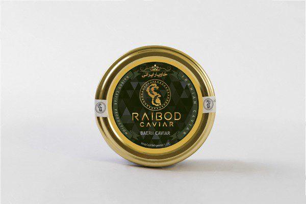Iranian Baerii caviar farmed