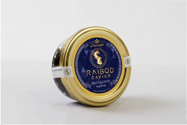 IranianImperial Beluga caviar farmed Caspian Sea